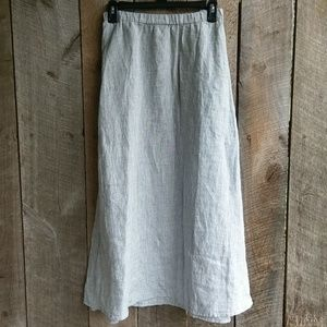 NWT Eileen Fisher Linen Skirt 4